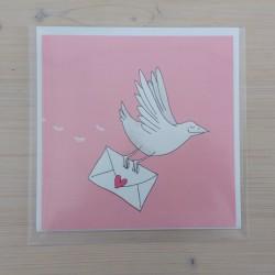 Karte - Liebesbrief